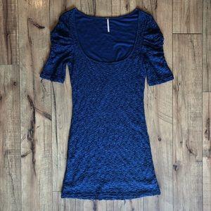 Free People Crochet Lace Bodycon Mini Dress